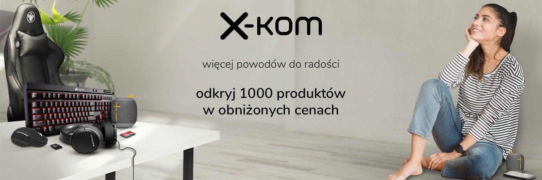 Promocja: 1000 produktów taniej nawet o 96% w sklepie x-kom