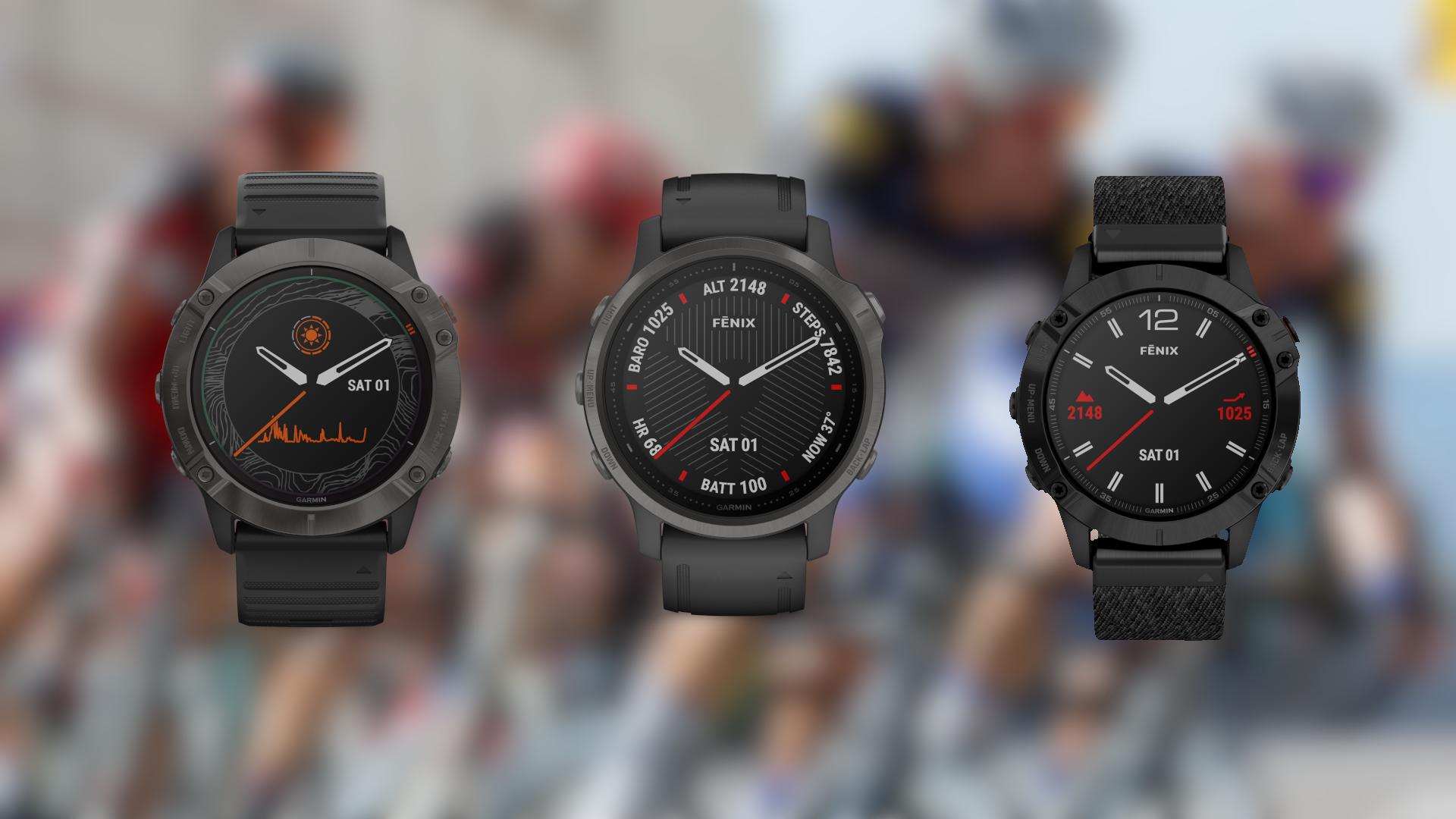 Garmin Fenix 6 - nowa odsłona sportowych zegarków oficjalnie zapowiedziana 20