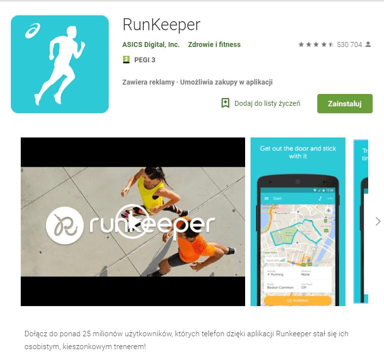 Już nie pobiegasz z Runkeeperem na zegarku z Wear OS