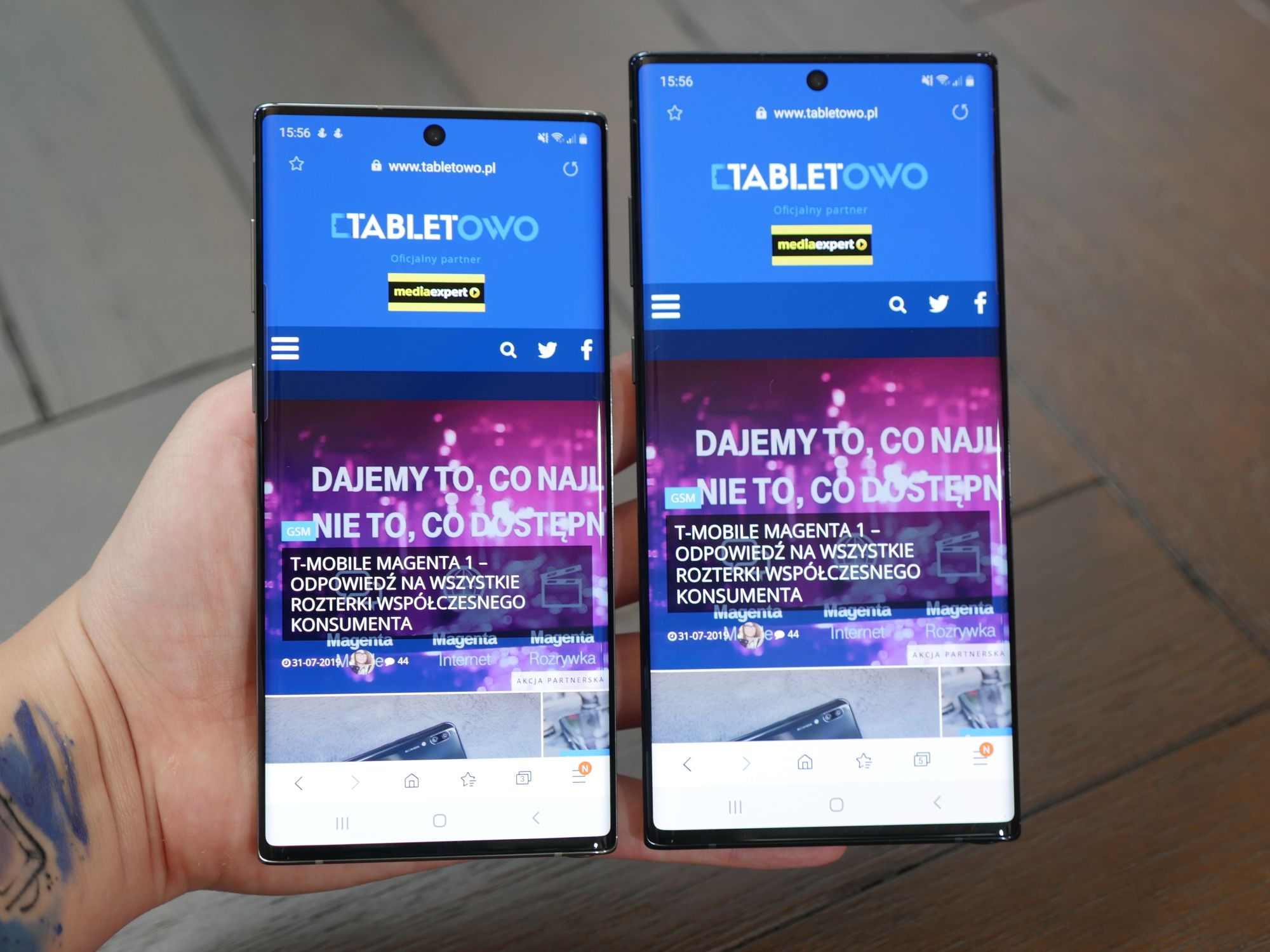 smartfony Samsung Galaxy Note 10 i Galaxy Note 10+