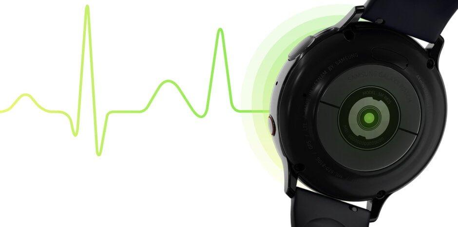 Spodziewajcie się funkcji EKG i wykrywania upadków w smartwatchu Samsung Galaxy Watch Active 2 18