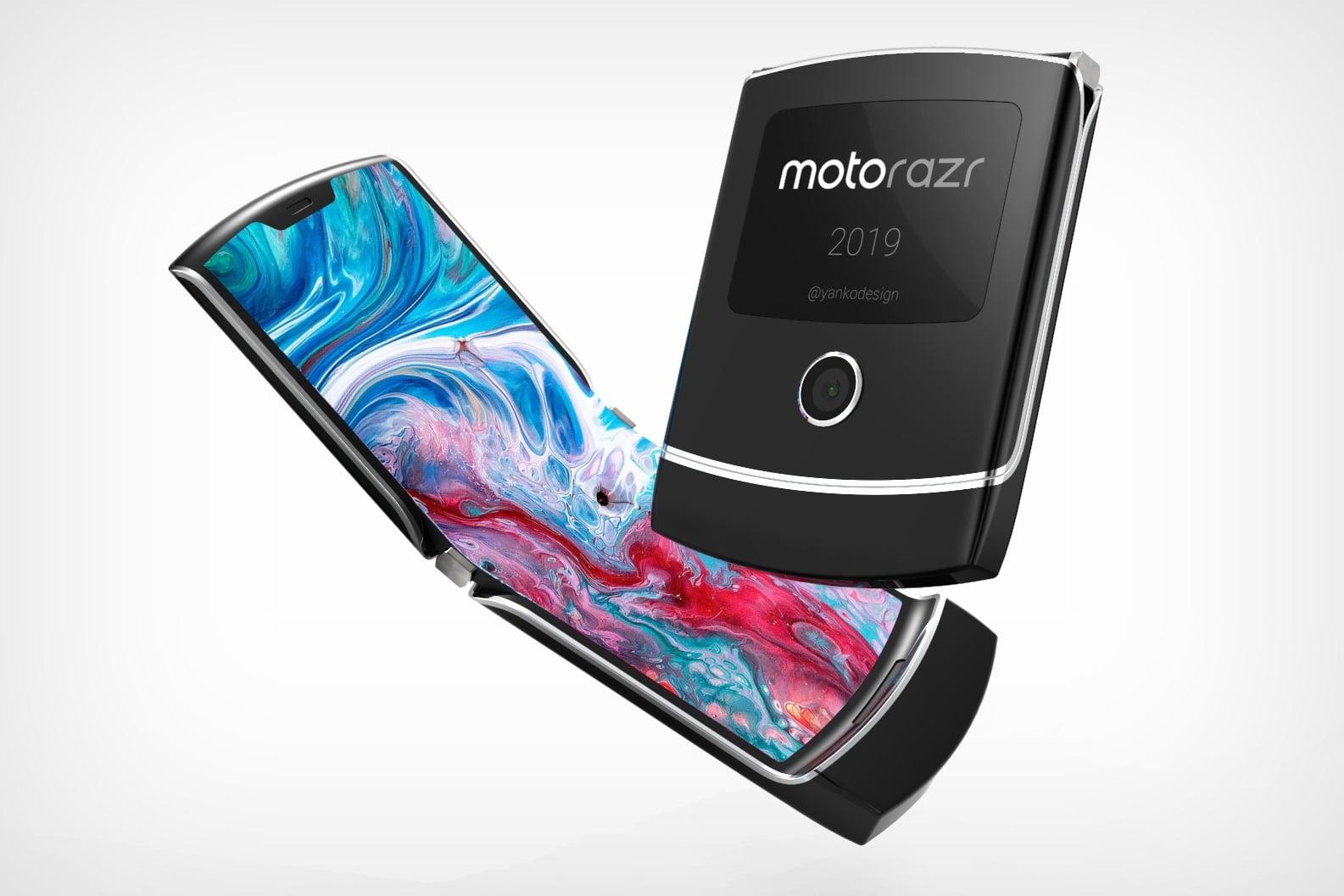 Motorola zaprezentuje składany smartfon RAZR już 13 listopada 22