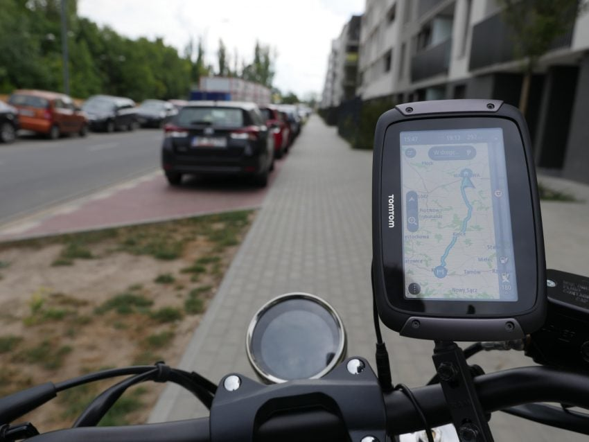 Motorcycle Navigation TomTom Rider 550, i e  1400 km endless