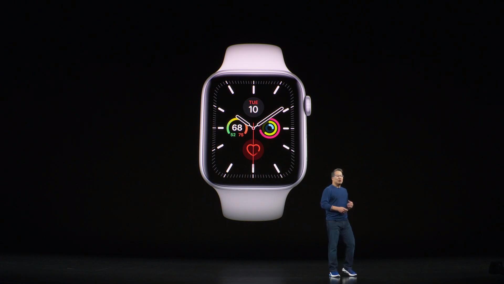 Oto kolejna odsłona najlepiej sprzedającego się smartwatcha na świecie - Apple Watch series 5