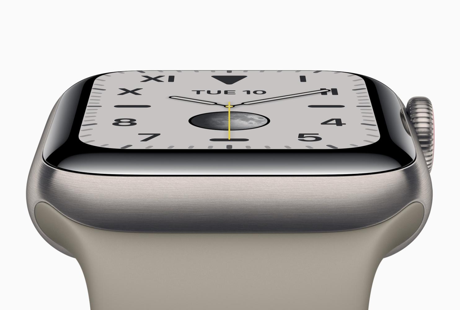 Apple Watch Series 5 ma problem z akumulatorem