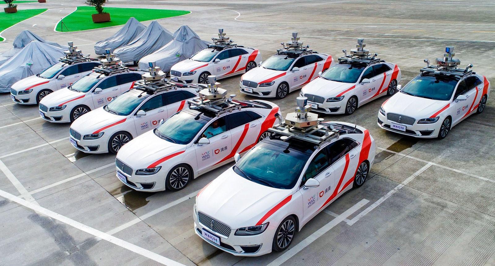 Autonomiczne taksówki w Chinach wcześniej niż w USA i Europie 27