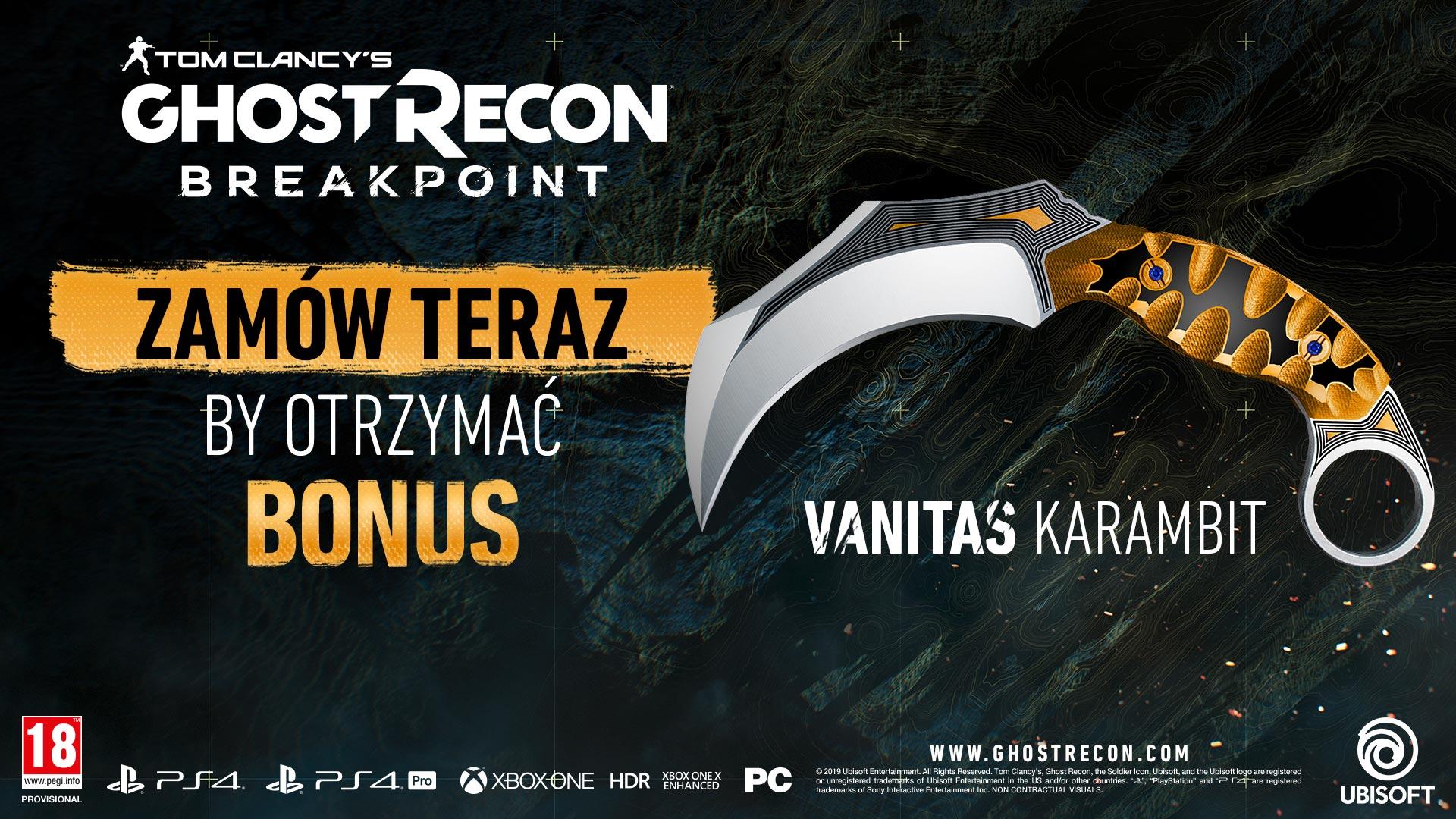 Otwarta beta Ghost Recon Breakpoint już za tydzień
