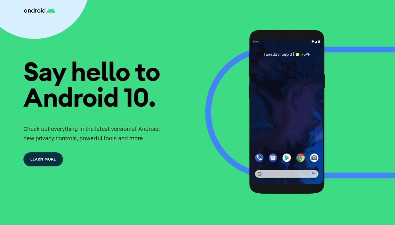 Przywitajcie nowego Androida 10