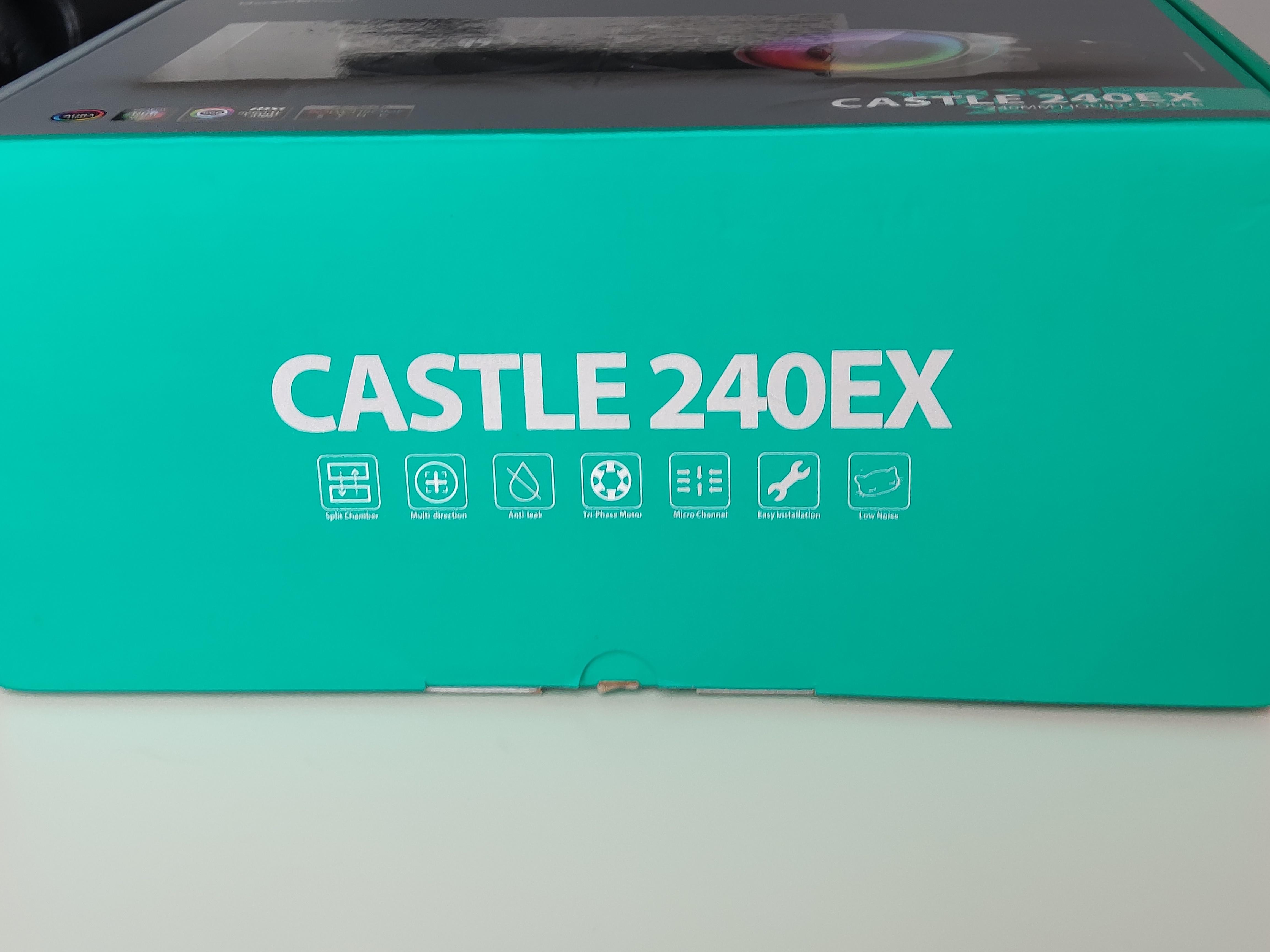 Test chłodzenia wodnego GameStorm Castle 240EX - bezpieczeństwo przede wszystkim