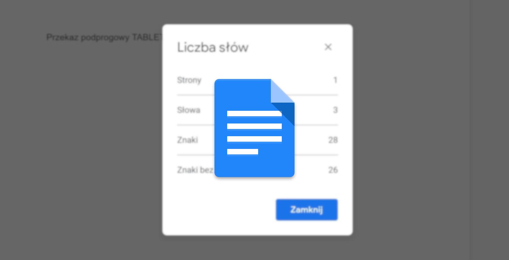 """Microsoft miał to już 20 lat temu: Dokumenty Google wyświetlą licznik słów """"live"""" 22"""