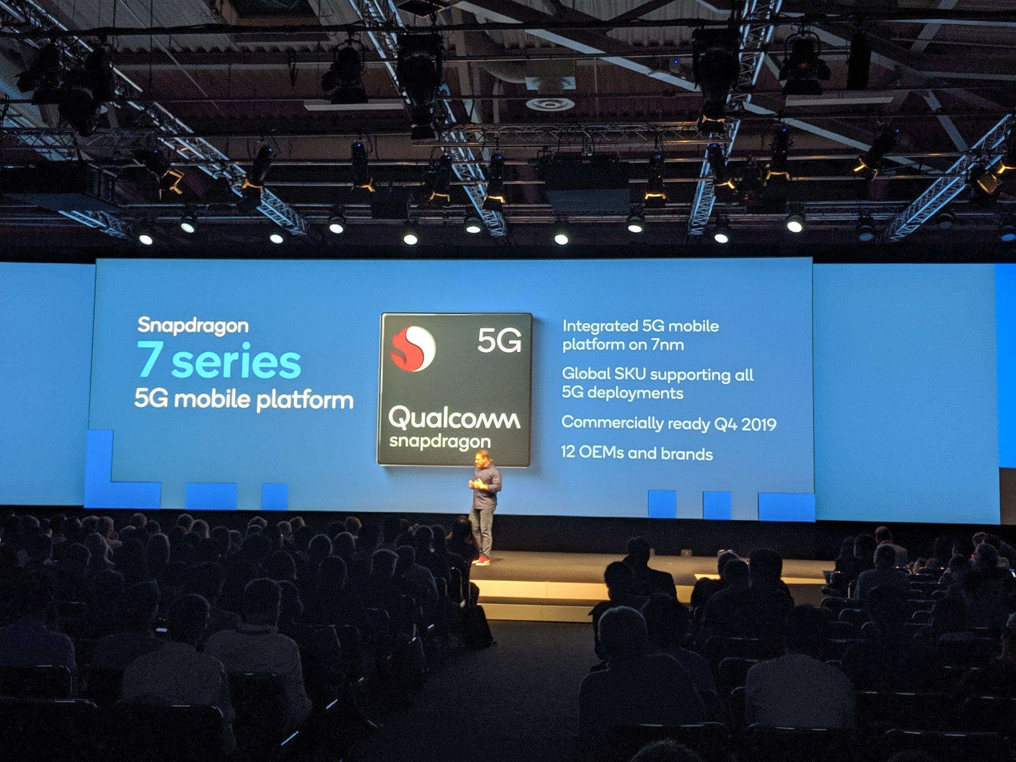 Dzięki nowym procesorom Qualcomma nawet nieflagowe smartfony obsłużą sieć 5G