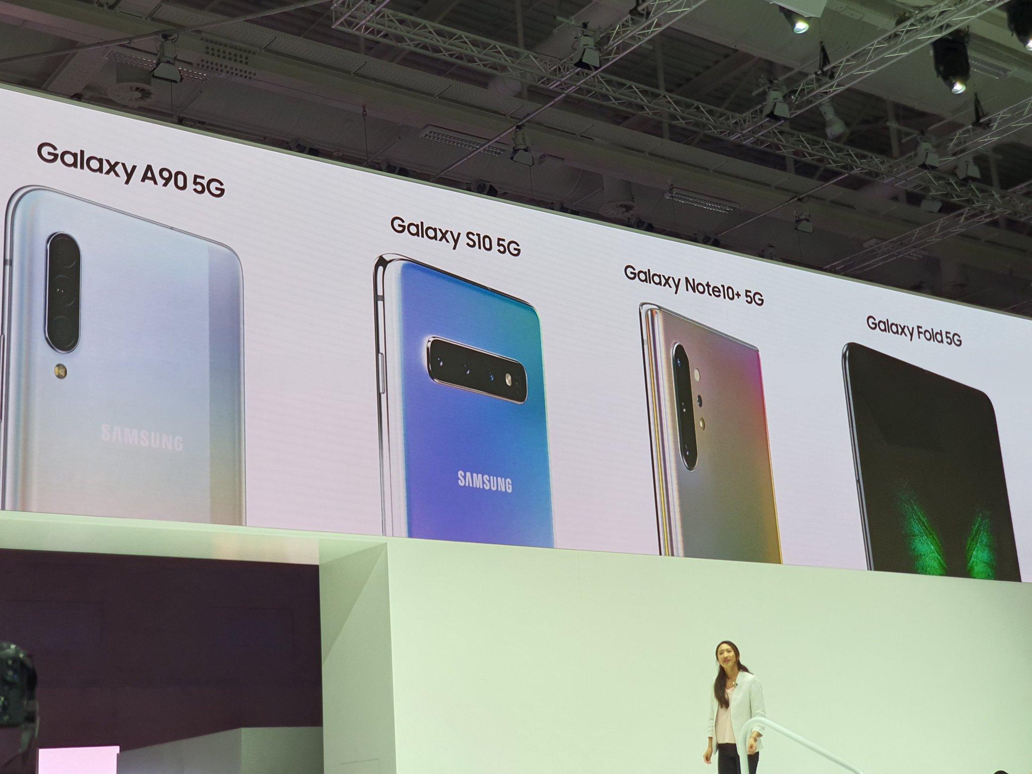 W 2019 roku Samsung sprzedał prawie 7 mln smartfonów z modemami 5G