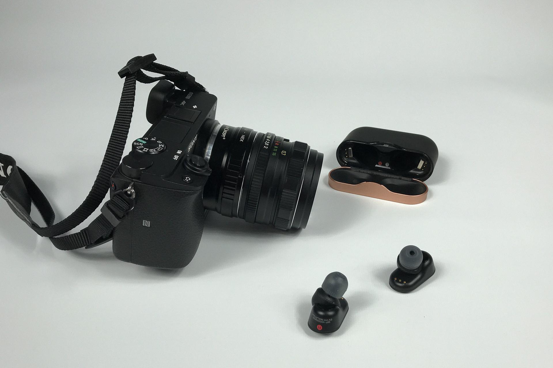 Sony WF-1000XM3 i Sony ILCE-6300