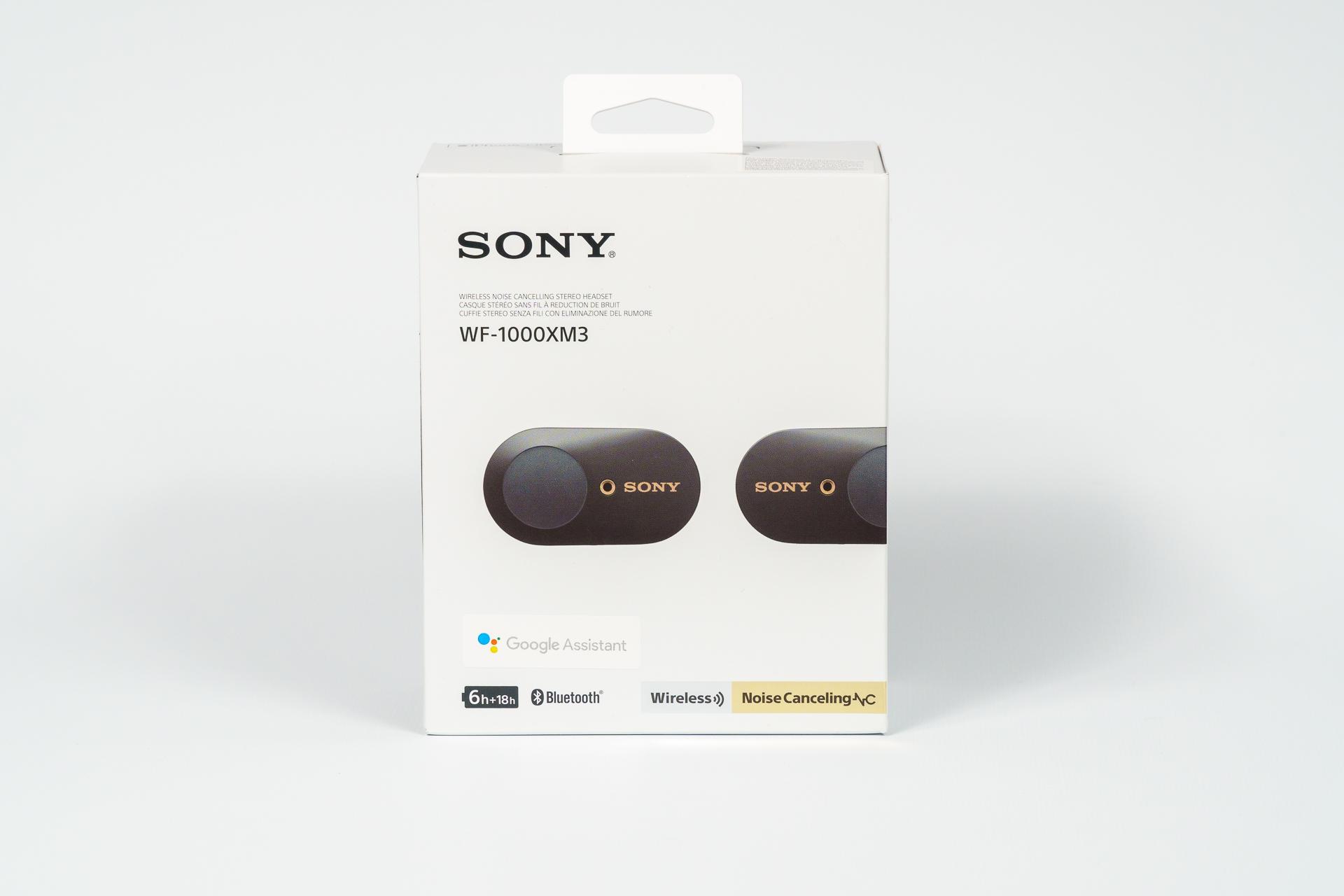 Sony WF-1000XM3 opakowanie