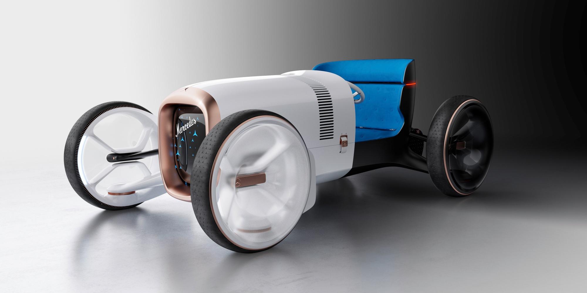 Vision Mercedes Simplex – futurystyczna wizja samochodu z 1901 roku 17