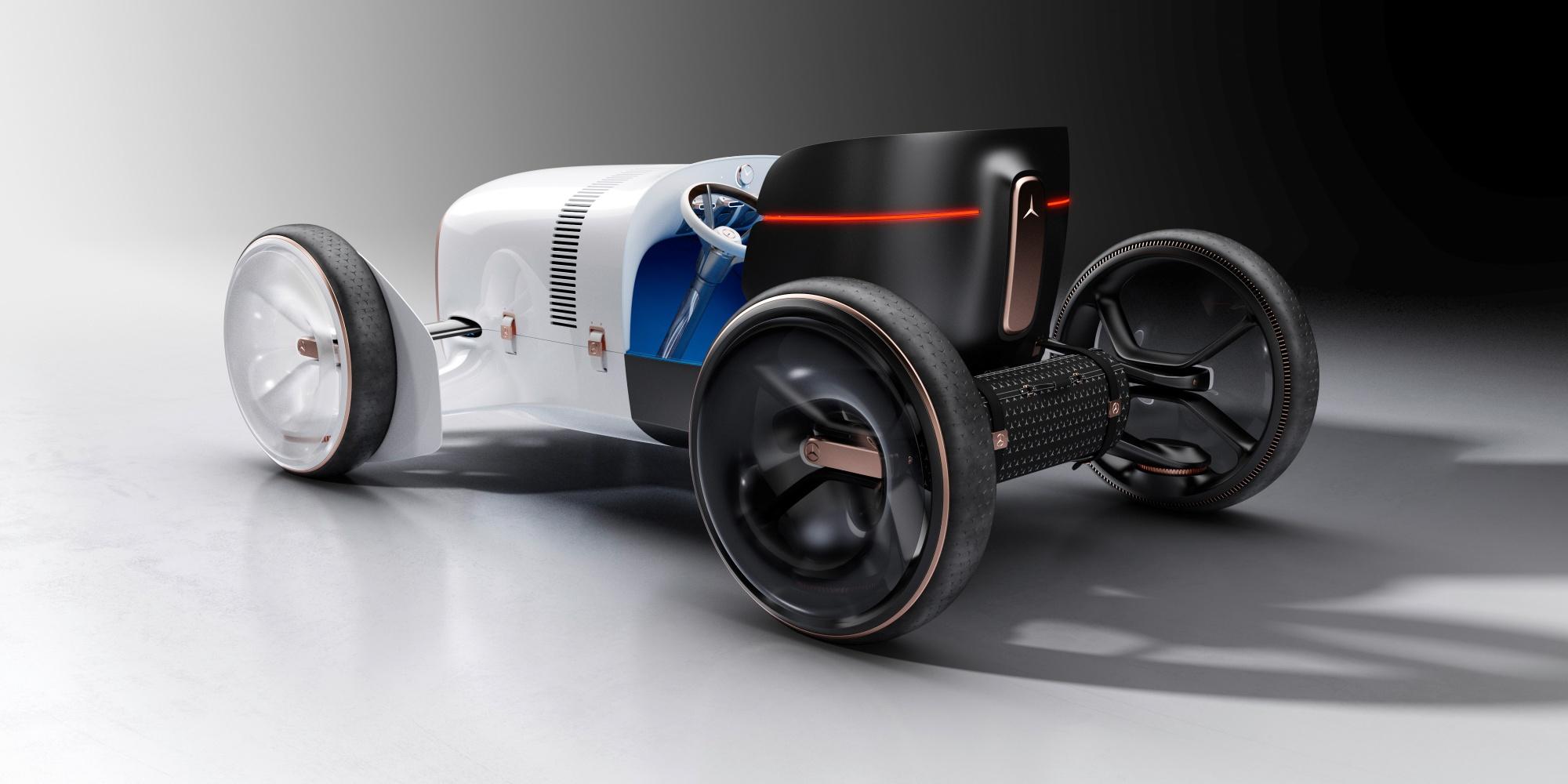 Vision Mercedes Simplex – futurystyczna wizja samochodu z 1901 roku