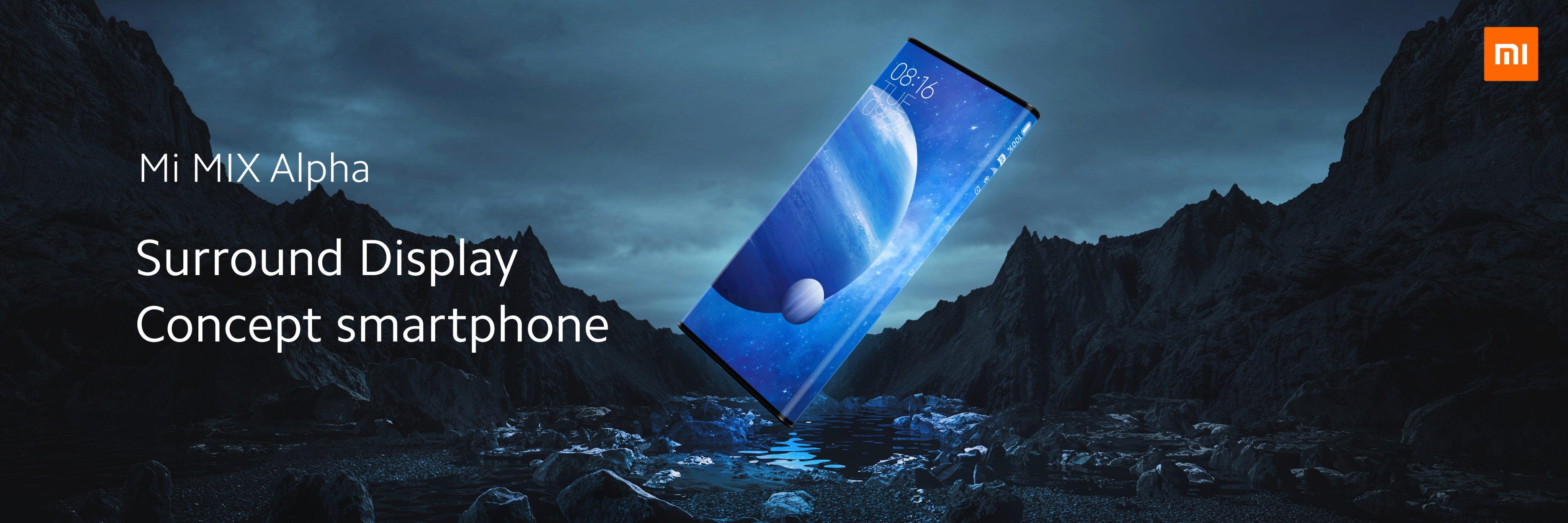 smartfon Xiaomi Mi MIX Alpha smartphone