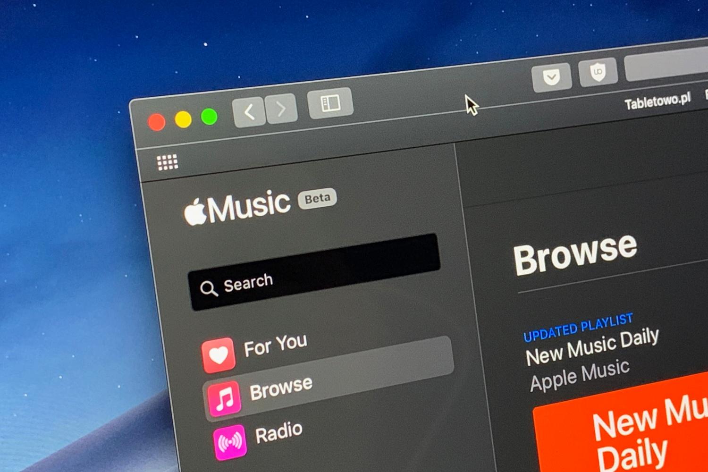 Apple Music w przeglądarce wkrótce z odświeżonym wyglądem i innymi zmianami 20
