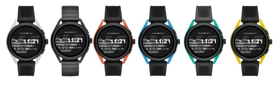Natarcie Fossila na rynek smart-zegarków trwa. Nowości od Emporio Armani i Diesla