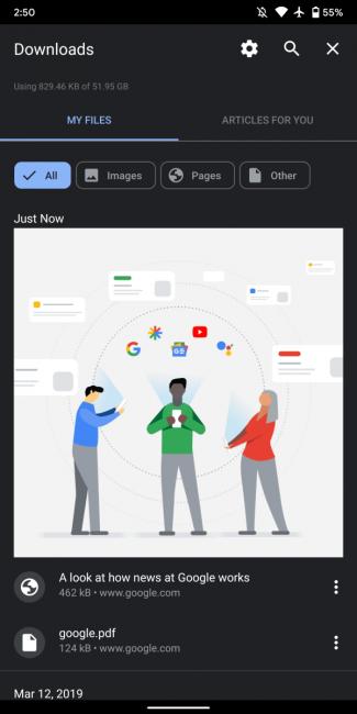 Przeglądarka Google Chrome 77 na Androida: co nowego?