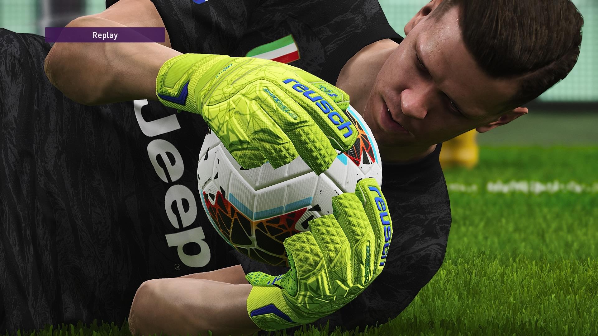 Wojciech Szczęsny w Pro Evolution Soccer 2020