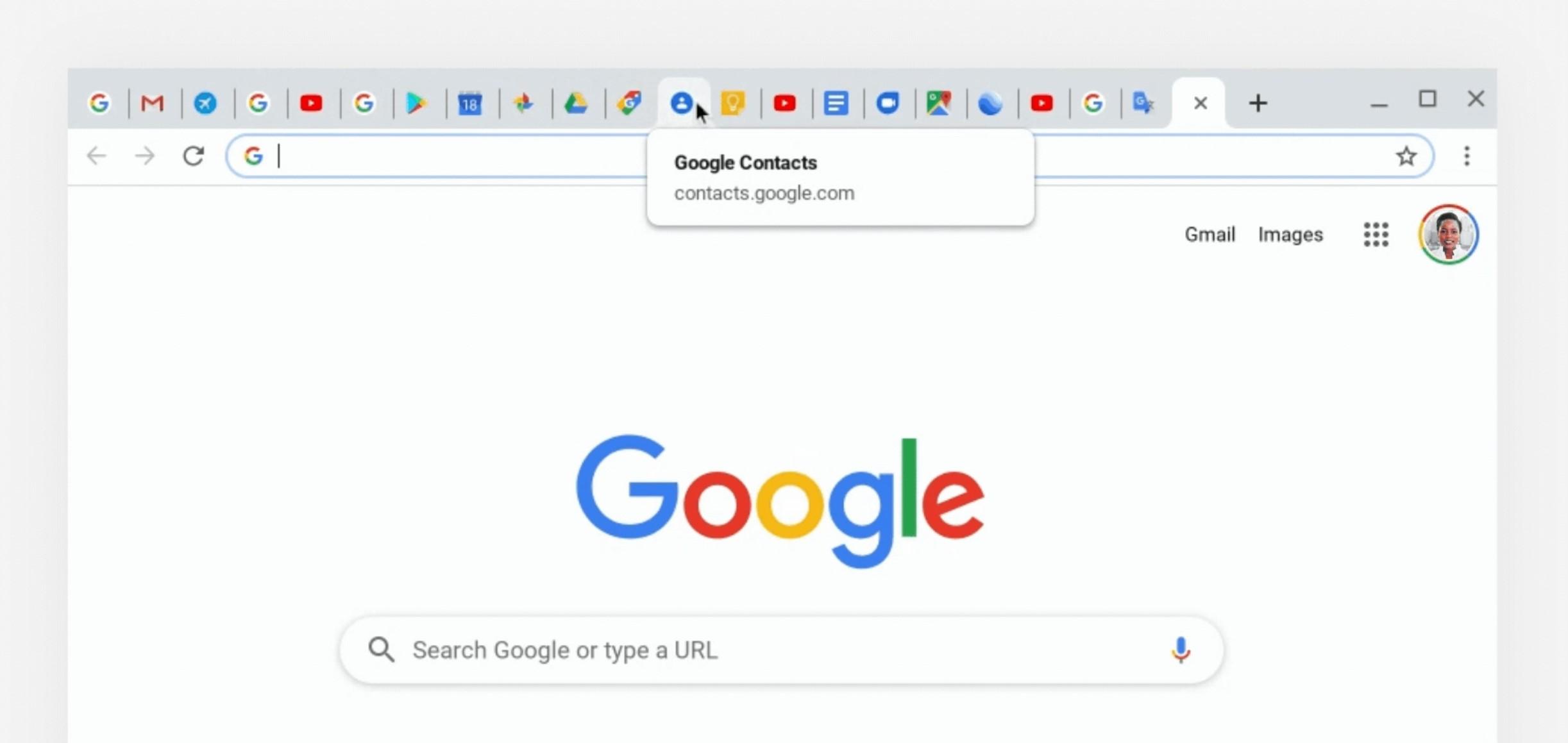 Zmienia się sposób prezentowania otwartych kart przeglądarki w Google Chrome 21