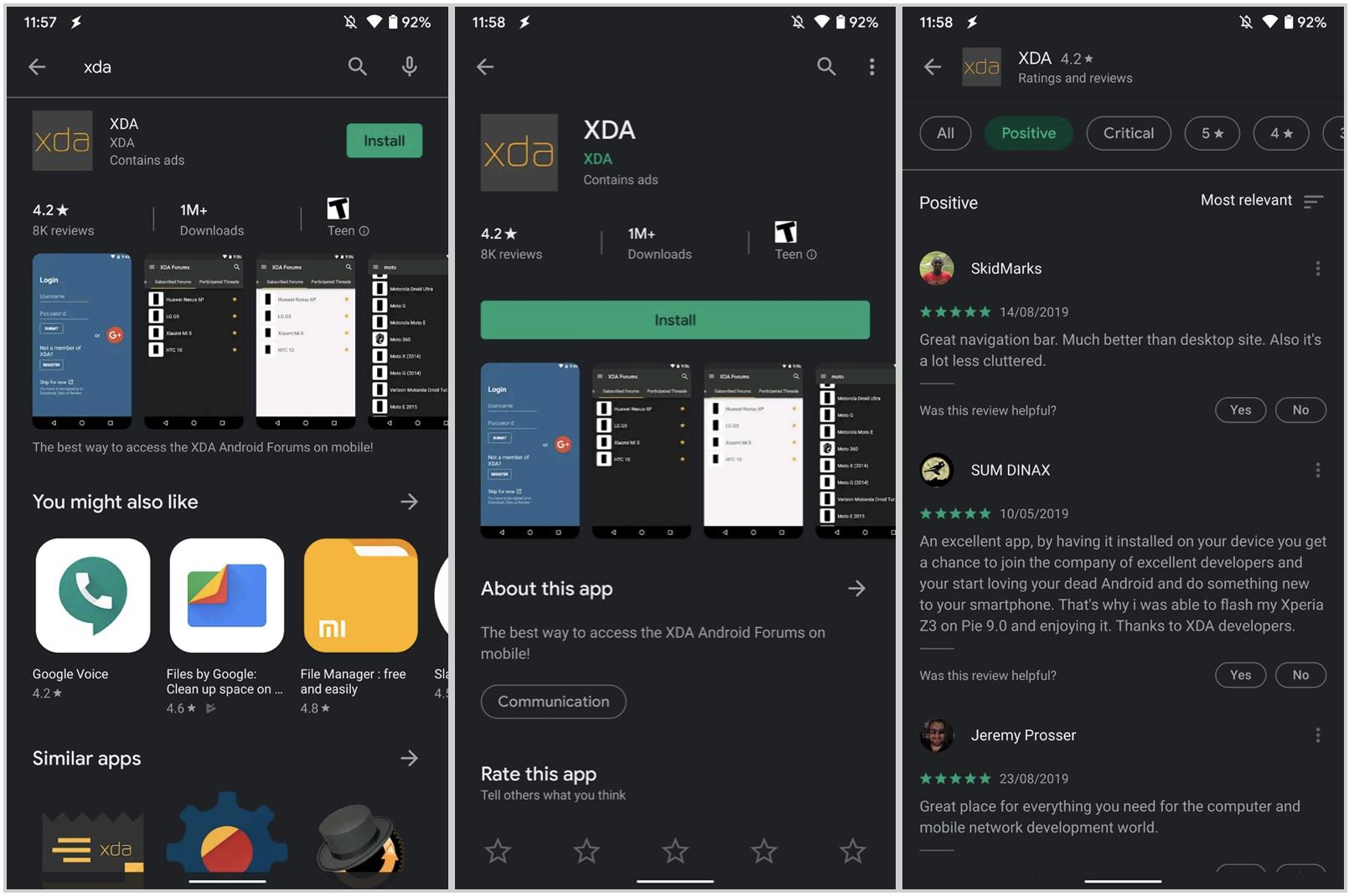 Google Play z Dark Mode – wybrańcy mogą już przejść na ciemną stronę