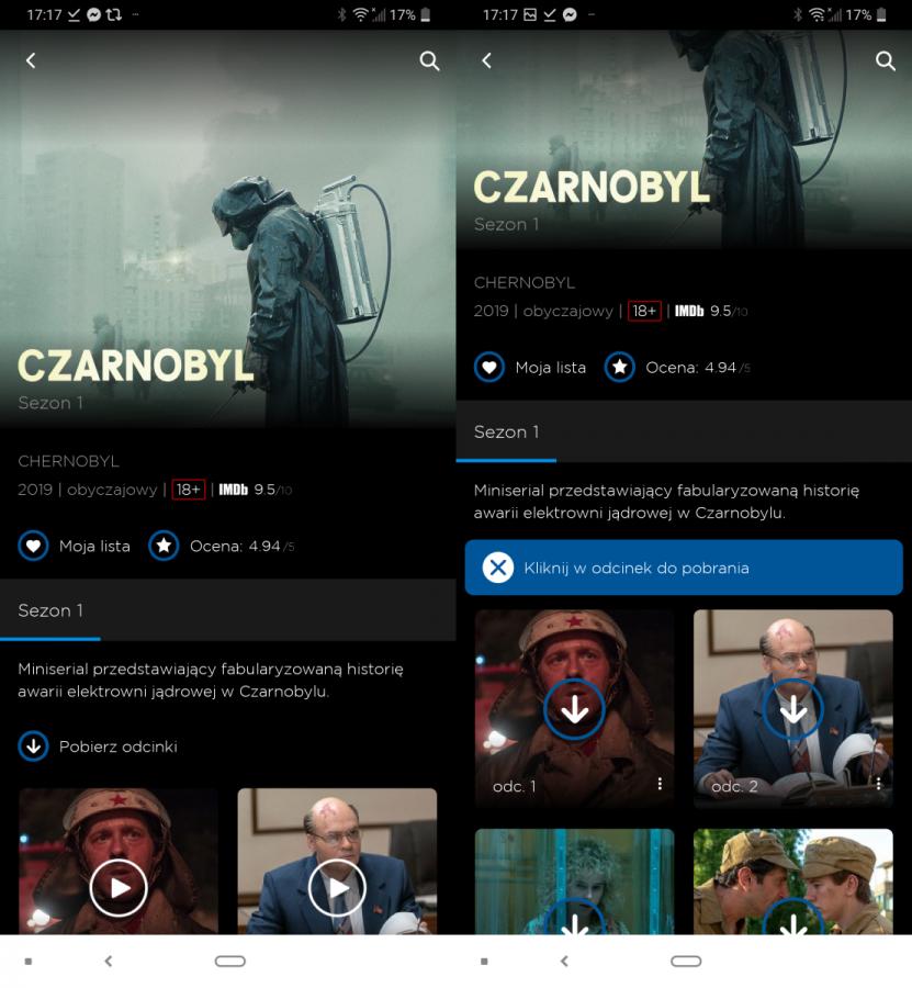 HBO GO wreszcie wprowadza funkcję pobierania filmów i seriali