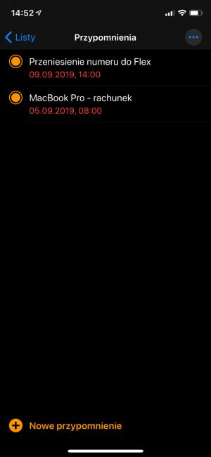iOS 13 - wrażenia po przejściu na ciemną stronęmocy 40