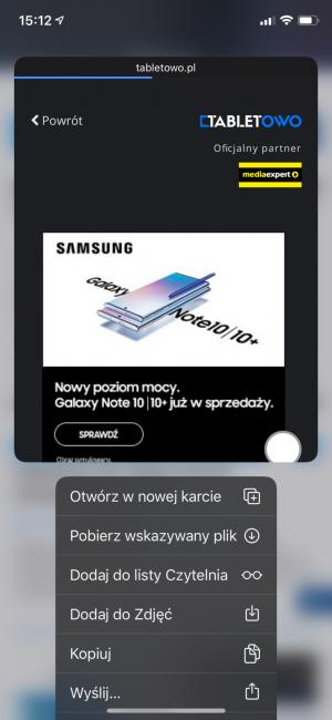 iOS 13 - wrażenia po przejściu na ciemną stronęmocy 49