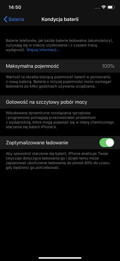 iPhone XR i modele XS dostaną funkcję ograniczenia wydajności