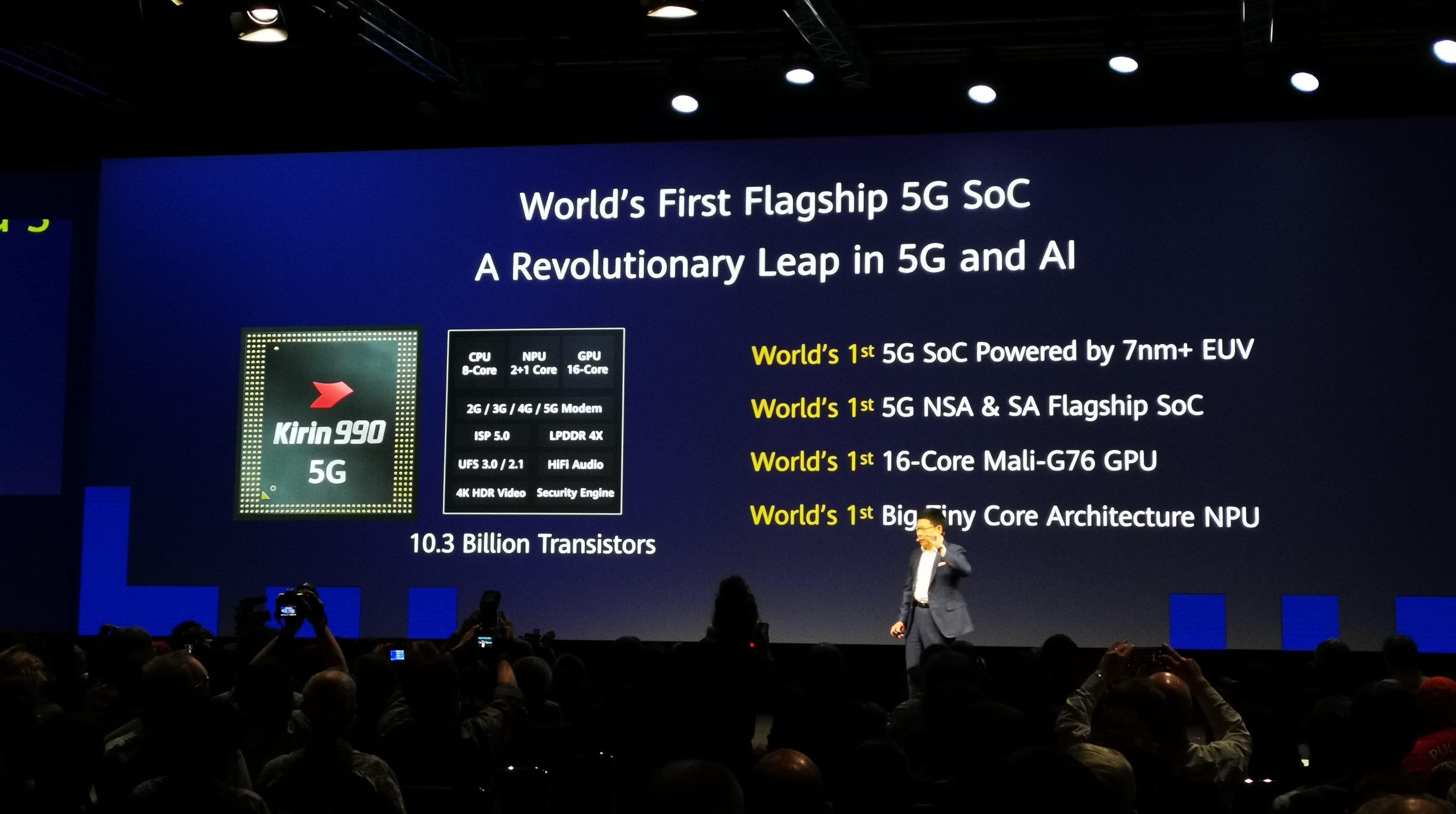 Nowy procesor Huawei Kirin 990, który znajdzie się w Mate 30 Pro, to konkurent Apple A13