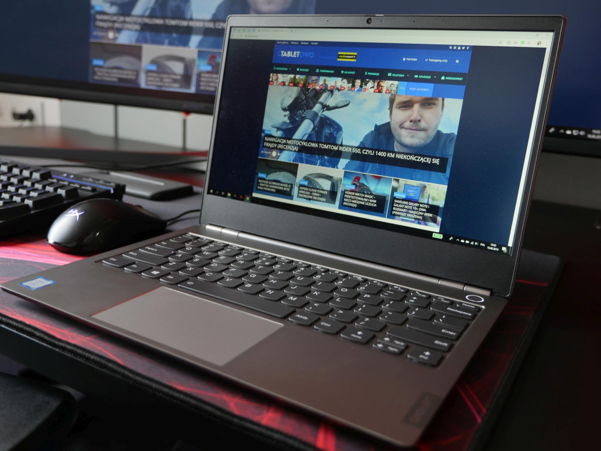 Lenovo ThinkBook 13s jako narzędzie pracy i rozrywki - mówię: sprawdzam!