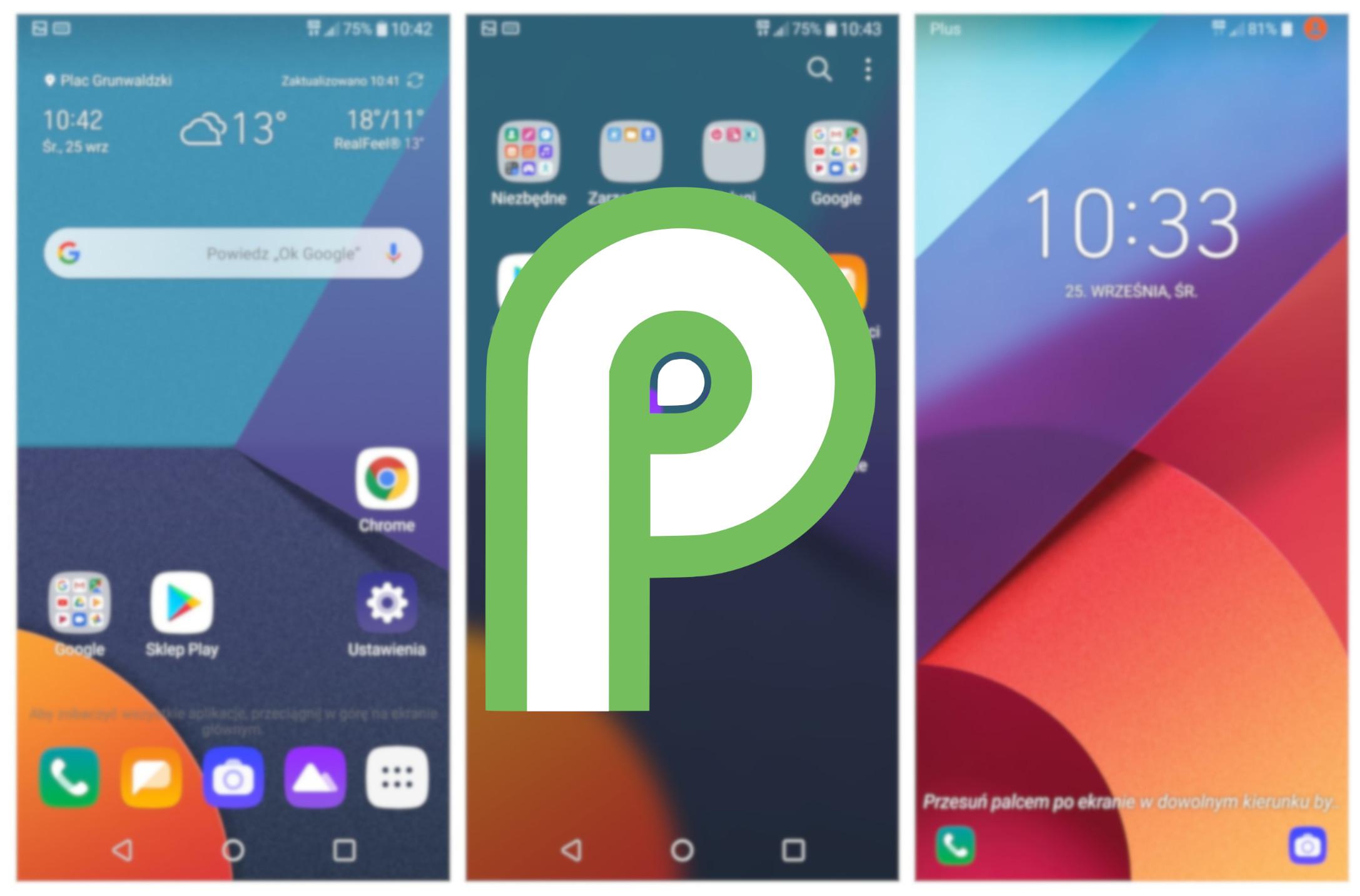 Aktualizacja do systemu Android 9.0 Pie trafia na smartfony LG G6 19