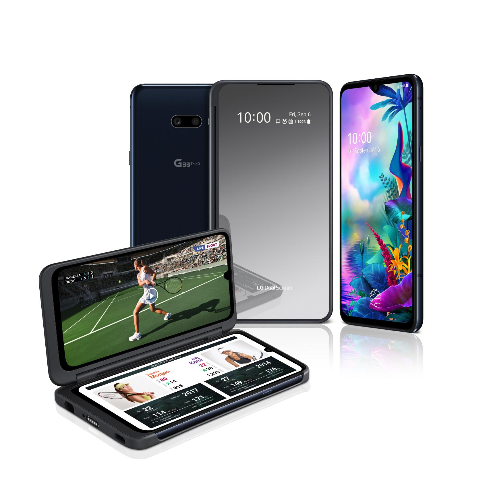 LG G8X ThinQ - dwa ekrany i pierwszy czytnik linii papilarnych zintegrowany z wyświetlaczem w LG 22