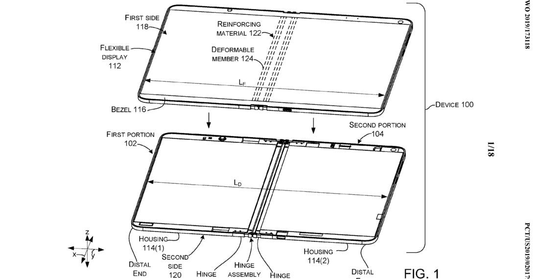 Microsoft ma pomysł na trwalsze wyświetlacze składanych smartfonów