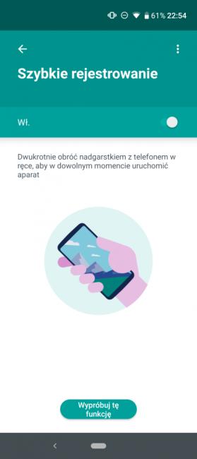 Motorola One Action - recenzja smartfona, który potrafi nagrywać pionowo poziome wideo 48
