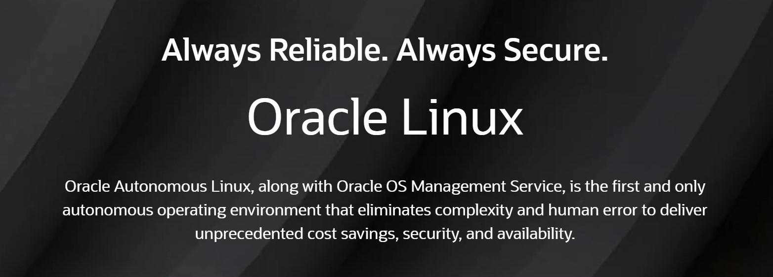 Pierwszy na świecie samodzielny system operacyjny: Oracle Autonomus Linux