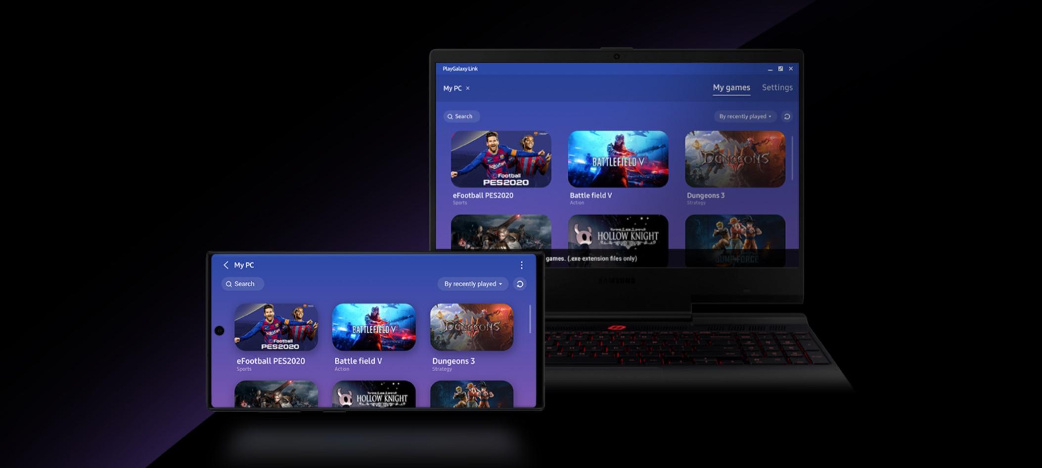 PlayGalaxy Link - platforma Samsunga do streamingu gier wystartowała 21