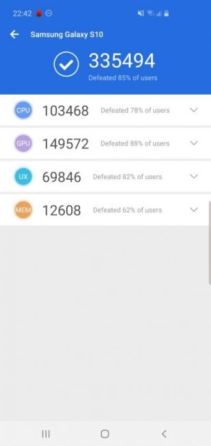 Porównanie: Samsung Galaxy Note 10 vs Samsung Galaxy S10 26