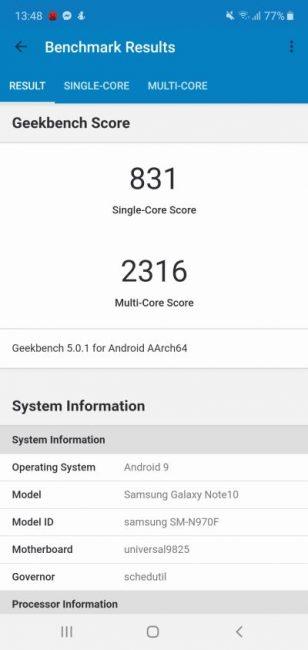 Porównanie: Samsung Galaxy Note 10 vs Samsung Galaxy S10 27