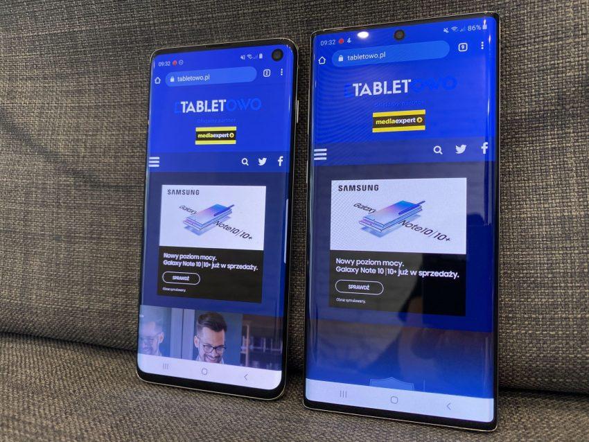 Porównanie: Samsung Galaxy Note 10 vs Samsung Galaxy S10 108