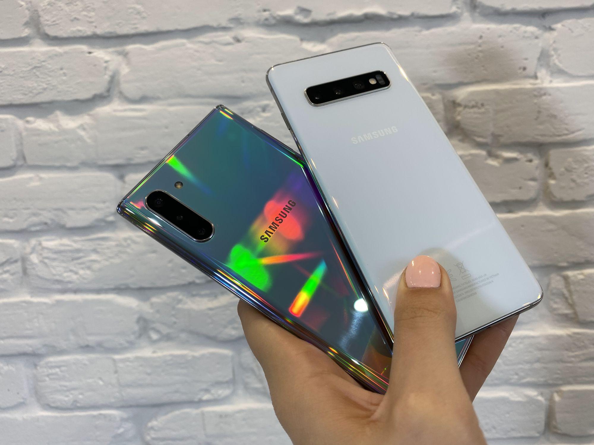 Samsung Galaxy Note 10 Galaxy S10+