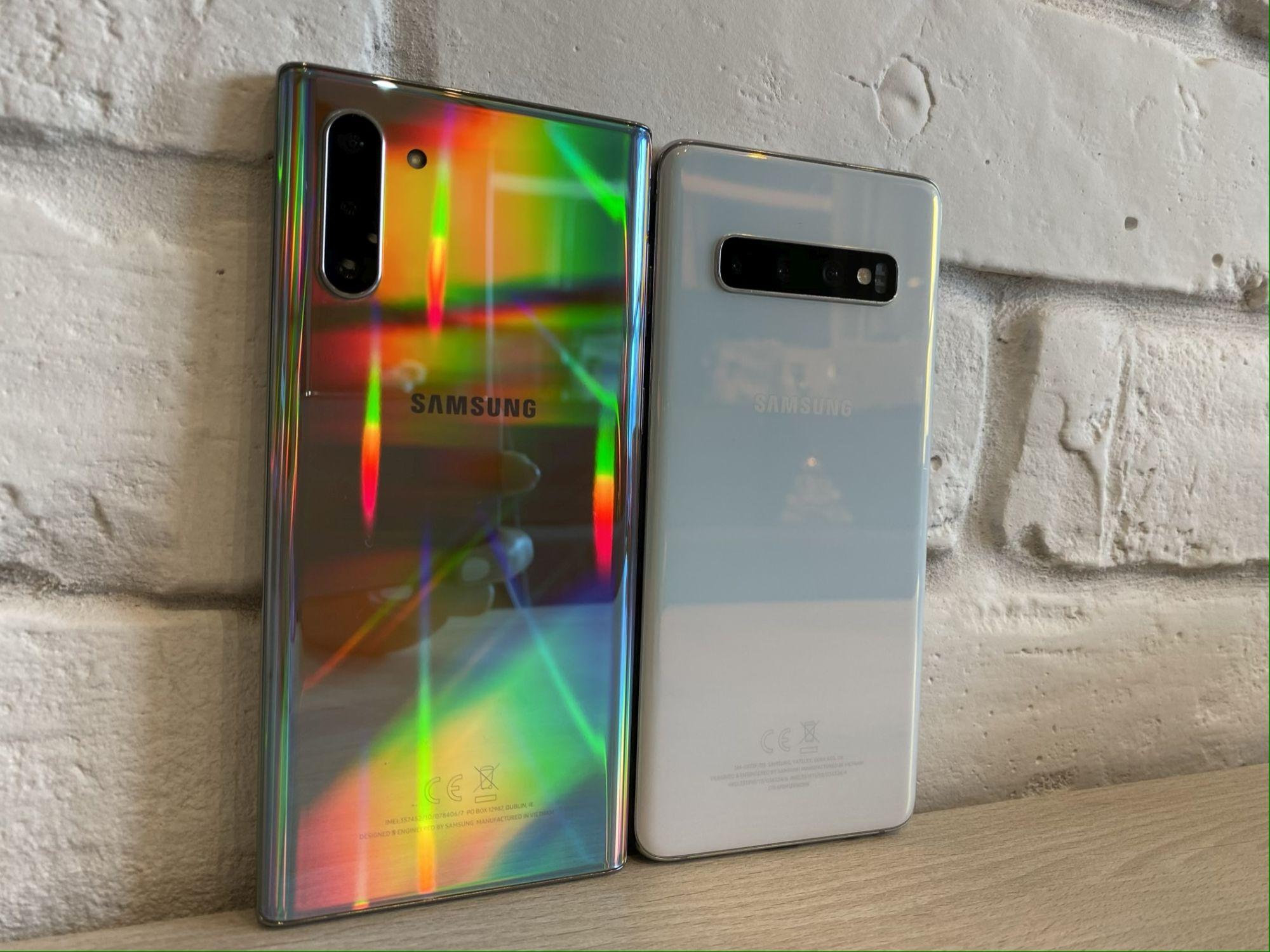 Seria Galaxy S10 z kolejnymi funkcjami z Note 10