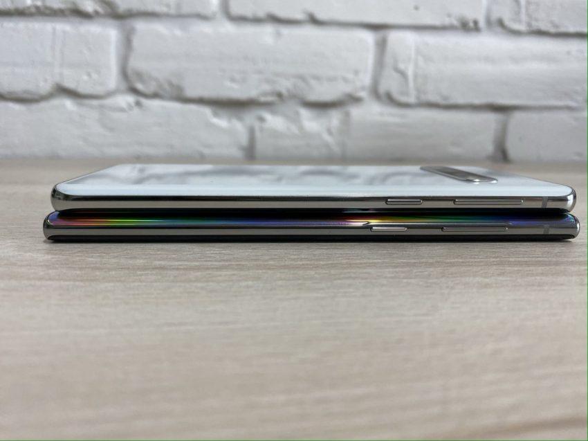 Porównanie: Samsung Galaxy Note 10 vs Samsung Galaxy S10 110