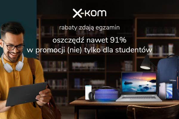 Powrót na studia i Dzień chłopaka ze zniżkami oraz raty 0% na Samsung QLED 17