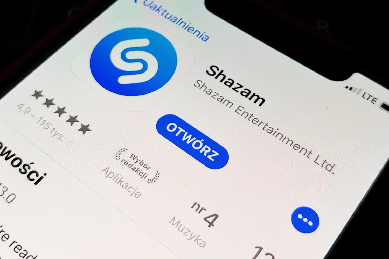 Shazam z opcją odsłuchu w YouTube Music