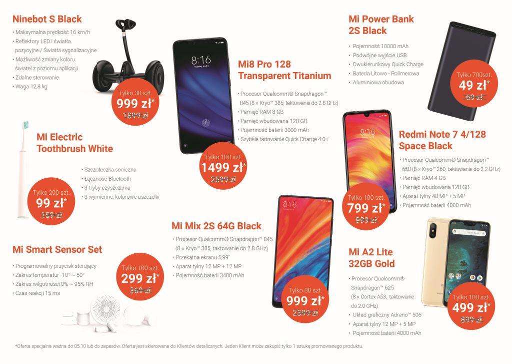 Promocje z okazji otwarcia sklepu Xiaomi Mi Store w Olsztynie