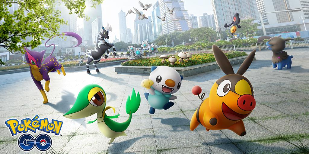 Pierwsza fala Pokémonów z regionu Unova już w Pokémon GO 24