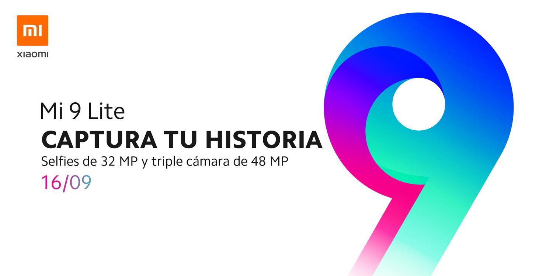zapowiedź premiery Xiaomi Mi 9 Lite w Hiszpanii